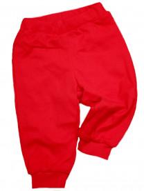 Брюки трикотажные на подкладке, красные арт.1428/018