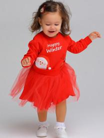 Платье Счастливой зимы арт.1633/018
