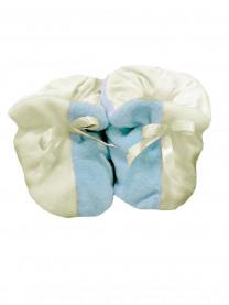 Пинетки подарочные голубые арт.0940/048/002