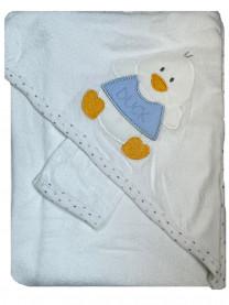 Полотенце махровое с варежкой арт. 00071/010