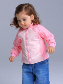 Толстовка вязаная розовая арт 1386/005