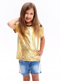 Блуза для девочки, золото арт. 00289/059