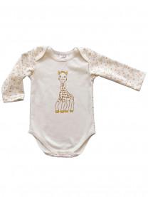 Боди Жираф (интерлок) молочный  арт.1405/049