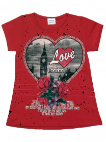 "Футболка ""Love London"" арт. 6541/018"