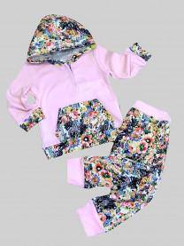 Комплект Цветы, розовый арт. 1503/106/005