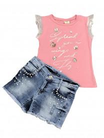 Комплект для девочки, розовый арт. 8335/005