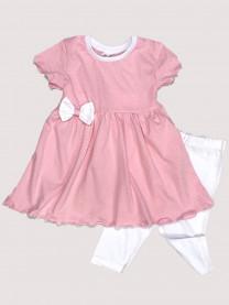 Комплект: платье, леггинсы арт. 1489/179