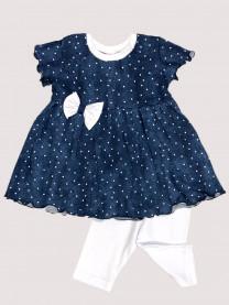 Комплект: платье, леггинсы арт. 1489/126
