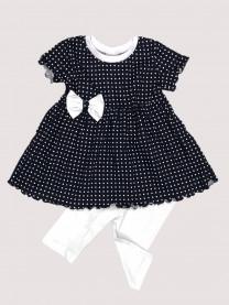 Комплект: платье, леггинсы арт. 1489/153