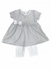 Комплект для девочки, белый арт. 1489/027