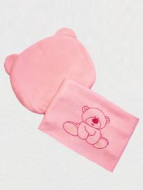 Комплект в коляску Медвежонок, розовый арт. 0051/005