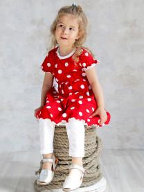 Комплект: платье, леггинсы арт. 1489/110