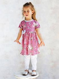 Комплект: платье, леггинсы арт. 1489/116