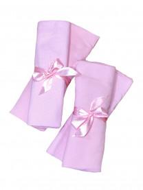Набор пеленок (футер, кулир), розовый  4 шт., размер 130*100 см, арт.1337/005
