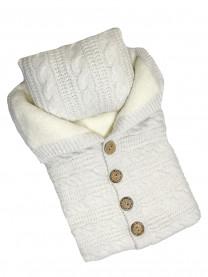 Конверт вязаный с подушкой арт.6206/002