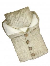 Конверт вязаный с подушкой арт.6206/004