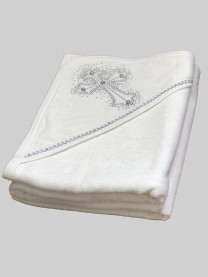 Крестильное полотенце, серебро арт. 0004/060