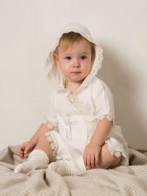 Крестильное платье для девочки арт. 0012/002
