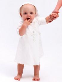 Крестильное платье для девочки арт. 0002/002