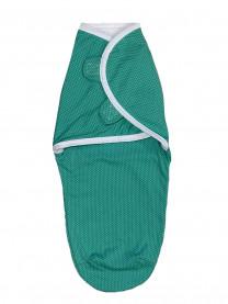 Мини-пеленка на липучках, зеленая арт. 1325/073