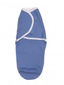 Мини-пеленка на липучках, голубая арт. 1325/063