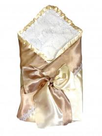 """Одеяло-конверт """"Капучино"""", кремовый арт.1179/004"""