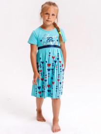 Платье короткий рукав арт. 16546/048
