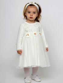 Комплект платье с повязкой арт. 9017/002