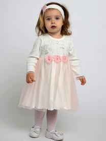 Комплект платье с повязкой арт. 9017/005