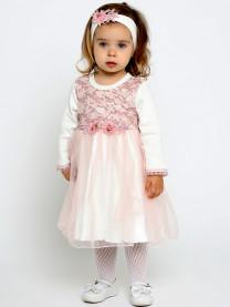 Комплект платье с повязкой арт. 9018/081