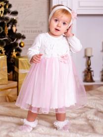 Платье с повязкой арт. 9002/005