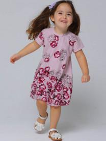 Платье для девочки, розовый арт. 1490/151