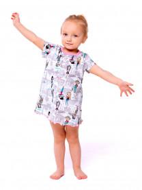 Платье для девочки, серый арт. 1490/150
