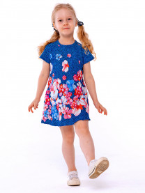Платье для девочки, т.синий арт. 1490/152