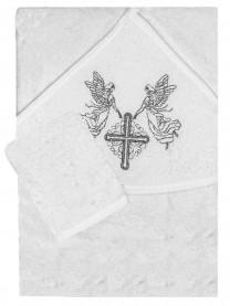 Полотенце крестильное, серебро арт. 11822
