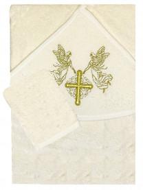 Полотенце крестильное, золото арт. 11822/059
