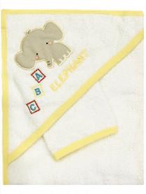 Полотенце махровое с варежкой арт. 0006/033