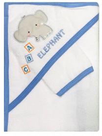 Полотенце махровое с варежкой арт. 0006/012