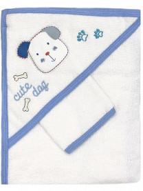 Полотенце махровое с варежкой арт. 0006/010