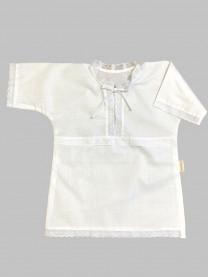 Рубашка крестильная, белая арт. 0851/001
