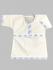 Рубашка крестильная, голубая арт. 0851/010