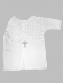 Рубашка крестильная, белая арт. 1163/001