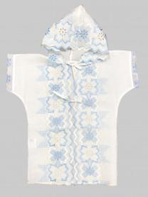 Рубашка крестильная с капюшоном арт. 1115/010
