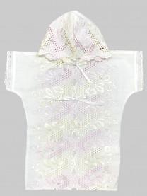 Рубашка крестильная с капюшоном арт. 1115/005