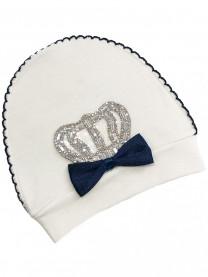 Шапочка Королевская, синий  арт.00103/012