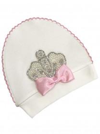 Шапочка Королевская, розовая арт.00103/005