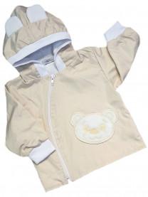 Ветровка Медвежонок (хлопок) бежевая арт. 1328/004