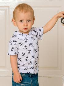 Рубашка для мальчика арт. 1496/023